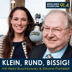 Podcast Heinz Buschkowsky: Klein, Rund, Bissig! - Berliner Rundfunk 91.4