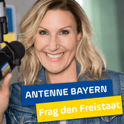 Podcast ANTENNE BAYERN Frag den Freistaat mit Kathie Kleff